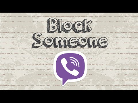 How to block someone on Viber