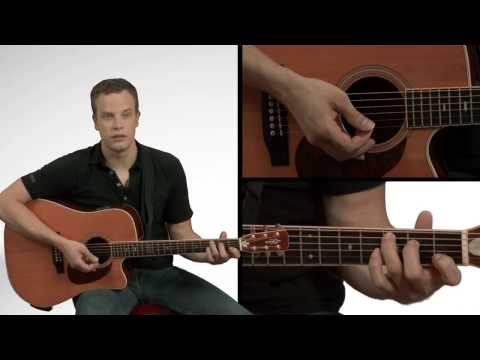 How To Play An Acoustic Guitar - Guitar Lessons