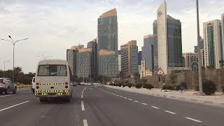 Doha City Drive I Qatar's Financial District I City Centre I Qatar