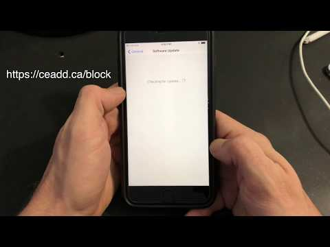 How To Block iOS 12/11 Updates!