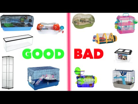 Good & Bad Hamster Cages (Mainly Europe)