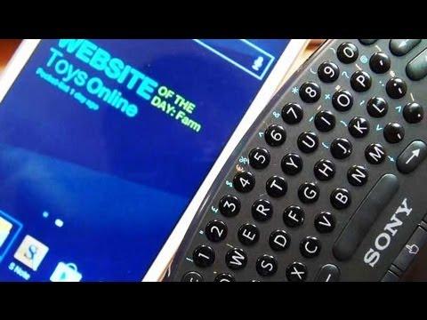 Pair PS3 Wireless Keypad to Samsung Galaxy Note 2 II (GT-N7100 / GT-N7105)