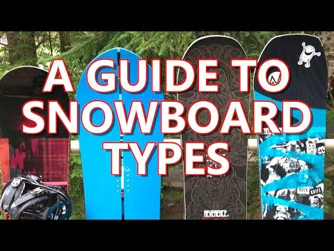 A Buyers Guide to Snowboard Types