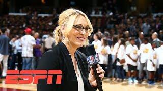 Doris Burke receives 2018 Curt Gowdy Media Award   ESPN