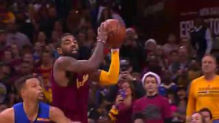Lebron dunks on Kevin Durant & Draymond Green! Steph Curry & Warriors choke Christmas day