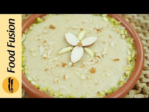 Instant Badam Firni (Rice pudding) Recipe | Phirni desssert by Food Fusion