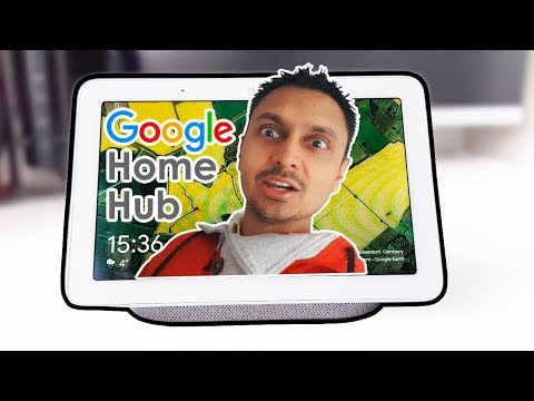 Google Home Hub Unboxing SetUP Works with Nest Hello?