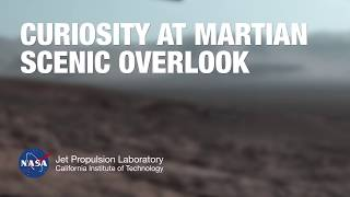Curiosity Arrives at a Martian Scenic Overlook