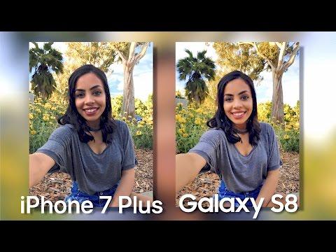 Samsung Galaxy S8 Camera vs iPhone 7 Plus!