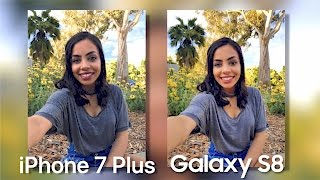 Samsung Galaxy S8 Camera vs iPhone 7 Plus!