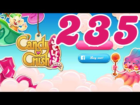 Candy Crush Jelly Saga Level 235 No Boosters