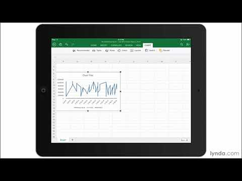 Introducing Microsoft Excel for iPad | Office for iPad | lynda.com