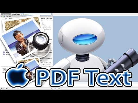 How to Extract Text From PDF on Mac (Preview, Automator Workflows)