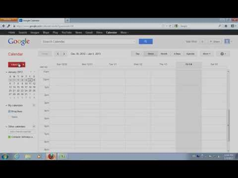 How to Export Excel to Google Calendar