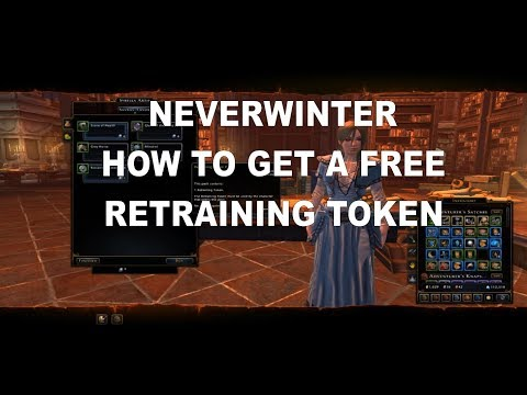NEVERWINTER HOW TO GET YOUR FREE RETRAINING TOKEN WITH SYMBOLS OF SAVRAS