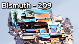 Bismuth - A METAL To GROW CRYSTALS.