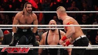 John Cena vs. Seth Rollins - Lumberjack Match: Raw, January 12, 2015