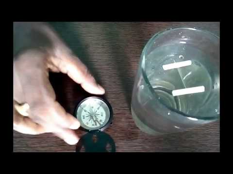 how to make magnetic compass at home