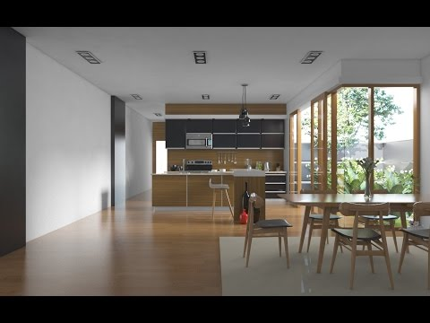 Tutorial Vray Sketchup #1 Realistic Kitchen Set