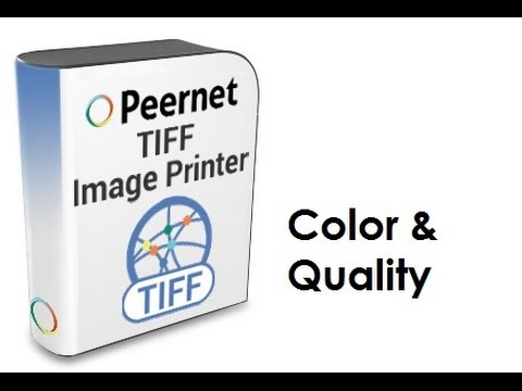 TIFF Image Printer Feature Highlight - Color and Quality | PEERNET