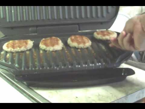 The George Foreman 'Grand Champ' grill