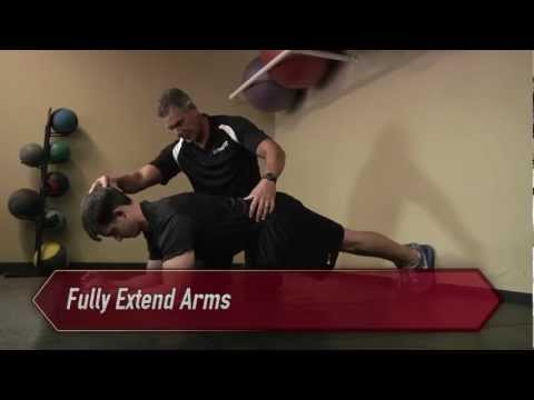 Plank Hold Fitness Test