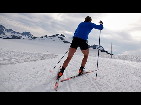 Winter training in July