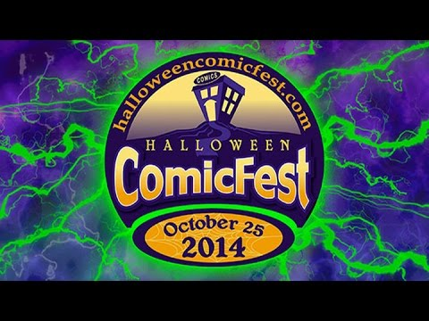 Unboxing Halloween ComicFest 2014 - See ALL the FREE COMICS and Doorcrashers!