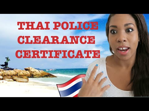 HOW TO | Thai Police Clearance Certificate (UK)