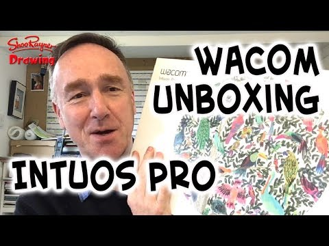 Unboxing the amazing Wacom Intuos Pro Pen and Tablet