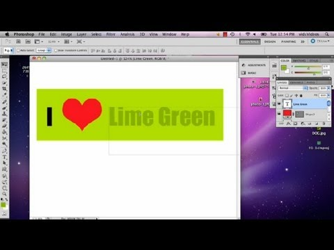 How to Make Bumper Stickers in Adobe Photoshop : Photoshop Tips