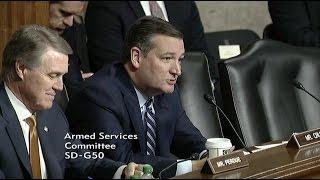 Sen. Cruz Questions Intelligence Leaders at Senate Armed Services Hearing