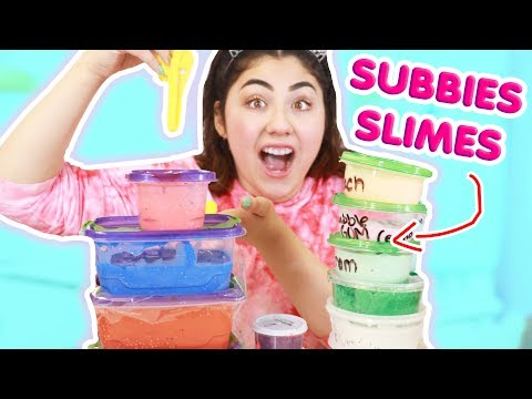 Small Unknown Slime Shops 100% honest ~ Subscribers slime shops   Slimeatory #355