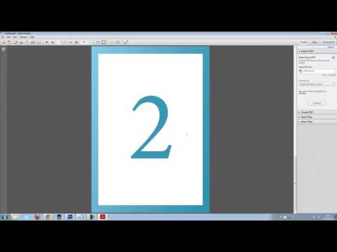 How To Create A Multiple Page PDF in Photoshop CS6