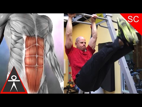 How to Progress Leg Raises to Build Muscle & Strength