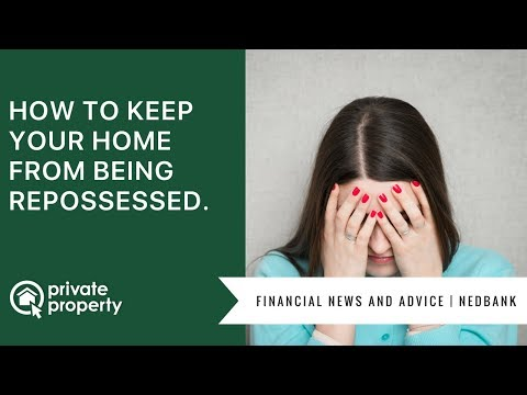 How to keep your home from being repossessed.