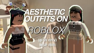 Aesthetic Outfits On Roblox