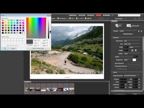 Master Creating PDF Slideshows in Adobe Bridge CS5