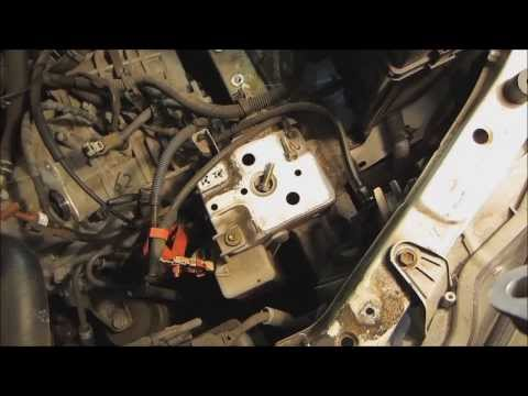 2002 Camry LE Starter Removal