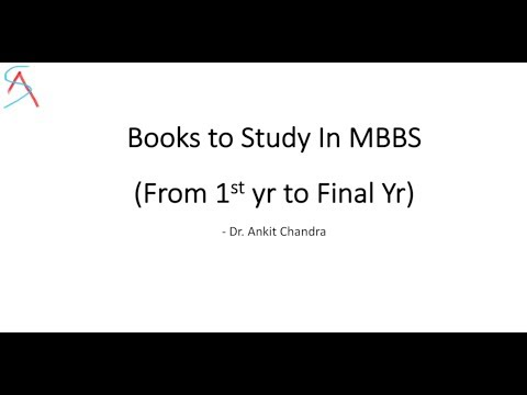 Books to Study in MBBS 1st , 2nd, 3rd & 4th year || College Tips