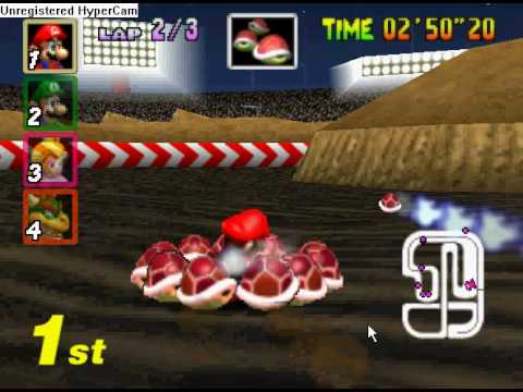 which is the best cheat code on mario kart 64