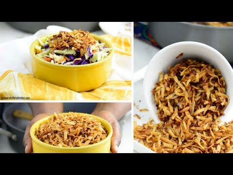 How To Make Coconut Flakes - Chef Lola's Kitchen