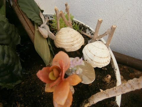 How to make fairy chairs for your fairy garden