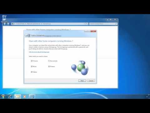 MCTS 70-680: Windows 7 HomeGorup
