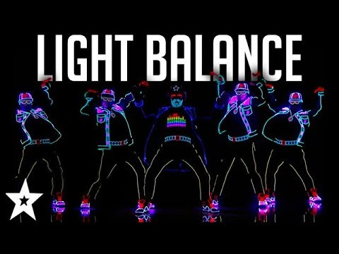 Light Balance FINALIST | ALL Performances | America's Got Talent 2017