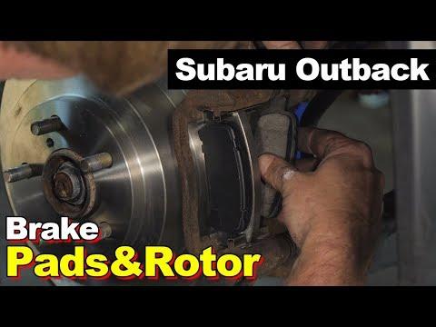 2004 Subaru Outback Rear Brake Pads & Rotors