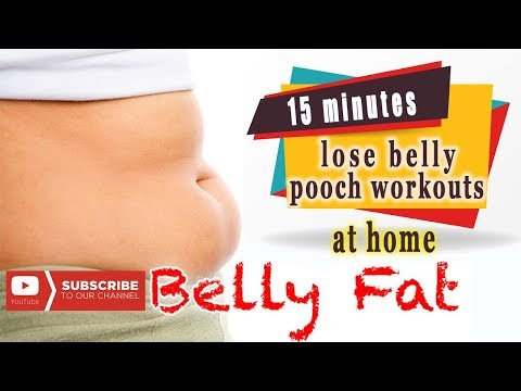 15 minutes abs challenge workout to lose belly pooch at home ll shat rong