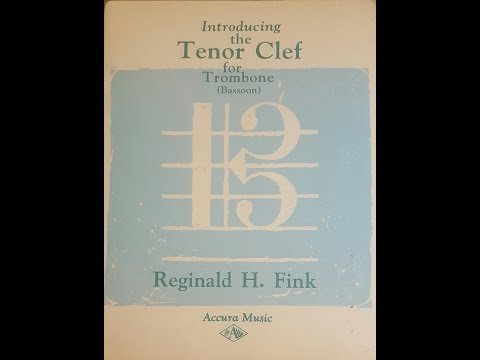 8 - Introducing the Tenor Clef for Trombone