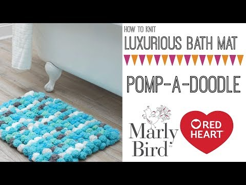 How to Knit Pomp-a-Doodle Rug