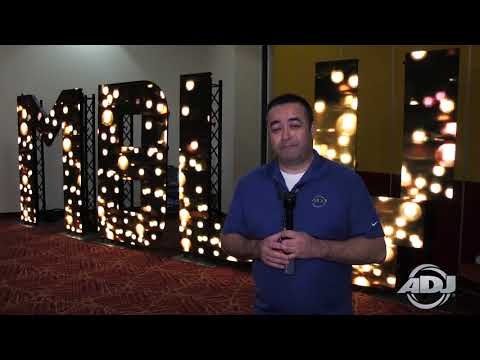 ADJ Design Series Video Panel Letters